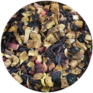 Voćni čaj, Bora Bora, jabuka, papaja, ribizla, jagoda, malina, različak