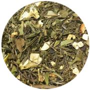 Zeleni čaj, đumbir, jabuka, kupine