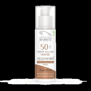 Algamaris-tube-50ml-creme-solaire-teinte-doree-50