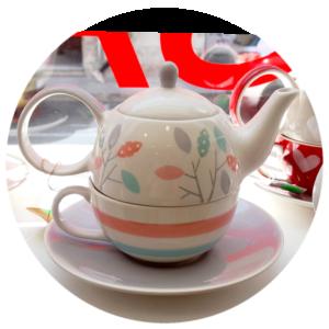 Set za čaj Dahlia