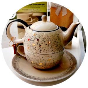 Set za čaj Sao - Gold